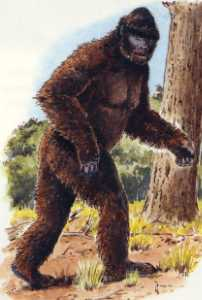 le bigfoot dans legende et monstres celebres Bigfoot_artiste