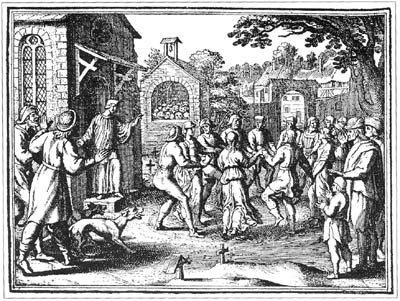 encyclopédie du paranormal Épidémie de danse de 1518