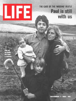 Life du 7 novembre 1969, contenant le démenti officiel de Paul McCartney