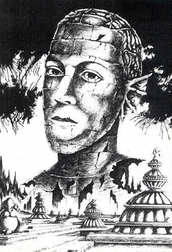 Lovecraft caricaturé en Profond