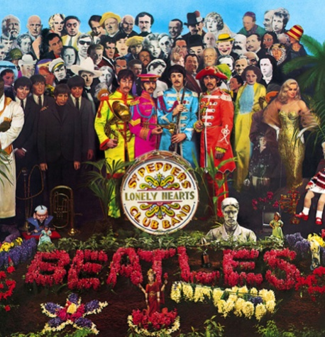 Pochette de Sergeant Pepper Lonely Hearts Club Band (1967)