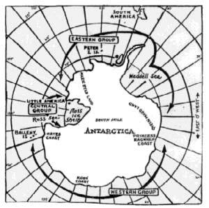 Carte de l'expédition