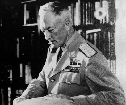L'amiral Byrd vers 1955
