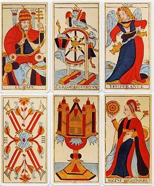 2618d06d543048 Encyclopédie du paranormal - Origines du tarot de Marseille