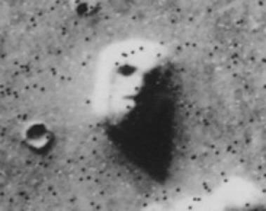 Le visage de Mars déjà évoqué en 1958 Visagemartien